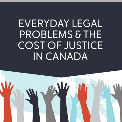 Everyday legal problems infographic